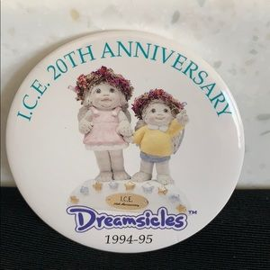 1994-1995 Dreamsicles I.C.E. 20th Anniversary Pin